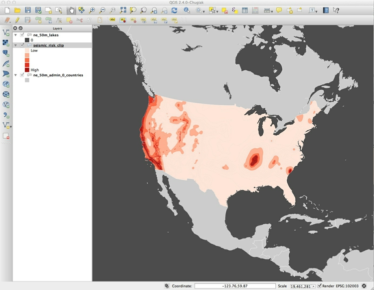 Making maps and processing geodata with QGIS